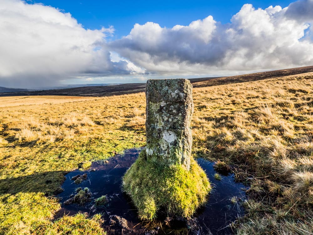 PUDC-Boundary-Stone,-Holne-Moor,-No.15-(387-m)1
