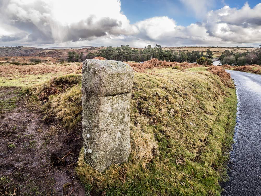 PUDC-Boundary-Stone,-Holne-Moor,-No.03-(303-m)1