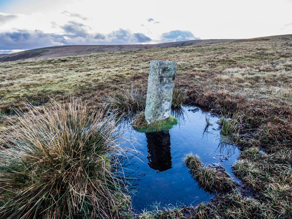 PUDC-Boundary-Stone,-Holne-Moor,-No.26-(435-m)1