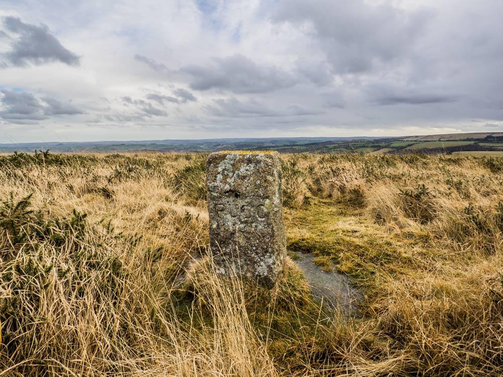 PUDC-Boundary-Stone,-Holne-Moor,-No.36-(368-m)1
