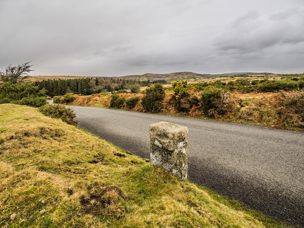 PUDC-Boundary-Stone,-Holne-Moor,-No.44-(310-m)1