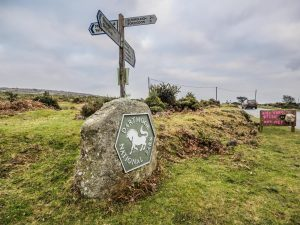 Dartmoor National Park Boundary Markers